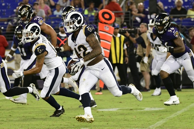 Oakland Raiders at Los Angeles Rams - 8/18/18 NFL Pick, Odds, and Prediction