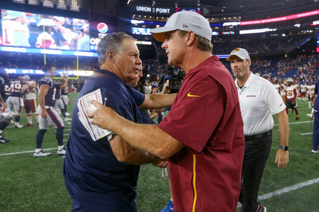 Washington Redskins vs. New England Patriots - 10/6/19 NFL Pick, Odds, and Prediction