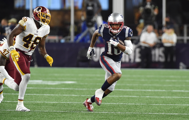 New England Patriots at Washington Redskins - 10/6/19 NFL Pick, Odds, and Prediction