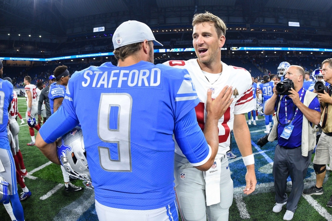 Detroit Lions vs. New York Giants - 10/27/19 NFL Pick, Odds, and Prediction