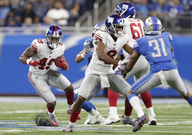 New York Giants at Detroit Lions - 10/27/19 NFL Pick, Odds, and Prediction