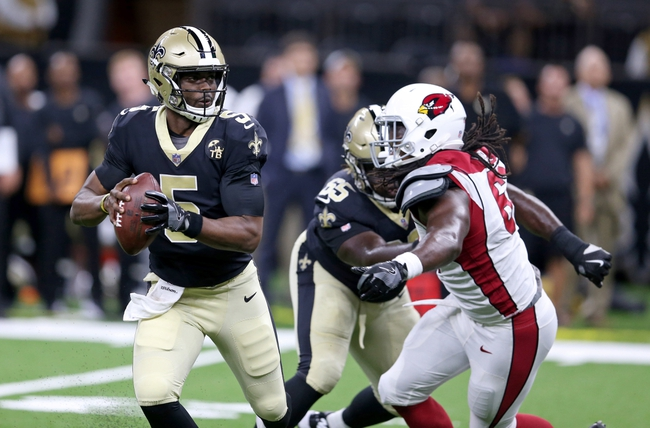 Arizona Cardinals at New Orleans Saints - 10/27/19 NFL Pick, Odds, and Prediction