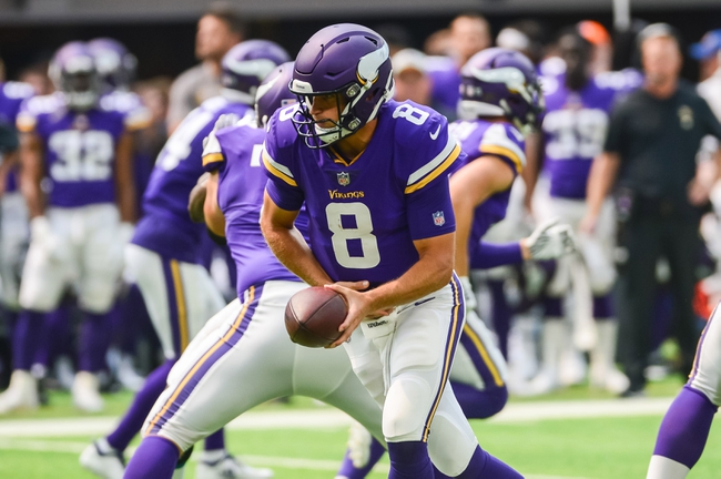 Minnesota Vikings vs. San Francisco 49ers - 9/9/18 NFL Pick, Odds, and Prediction