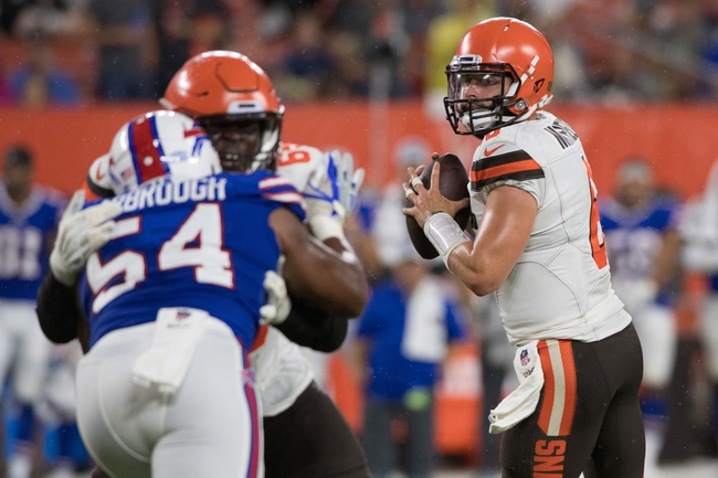 Buffalo Bills at Cleveland Browns - 11/10/19 NFL Pick, Odds, and Prediction