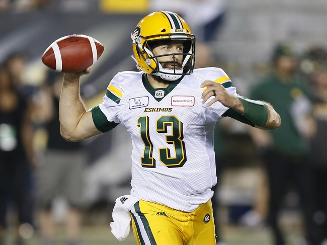 Edmonton Eskimos vs. Calgary Stampeders CFL Pick, Odds, Prediction - 9/8/18