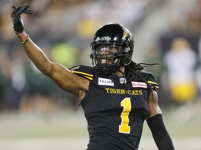 Hamilton Tiger-Cats vs. BC Lions CFL Pick, Odds, Prediction - 9/29/18