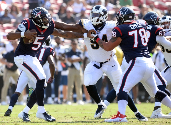 Houston Texans vs. Los Angeles Rams - 8/29/19 NFL Preseason Pick, Odds, and Prediction