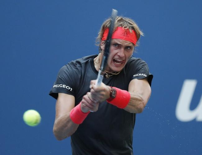 Alexander Zverev vs. Andrey Rublev - 10/10/19 Shanghai Masters Tennis Pick, Odds, and Prediction