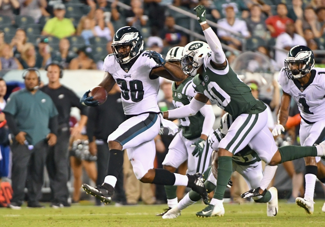 New York Jets vs. Philadelphia Eagles - 8/29/19 NFL Preseason Pick, Odds, and Prediction