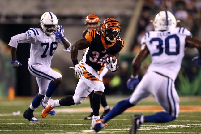 Cincinnati Bengals at Indianapolis Colts- 9/9/18 NFL Pick, Odds, and Prediction