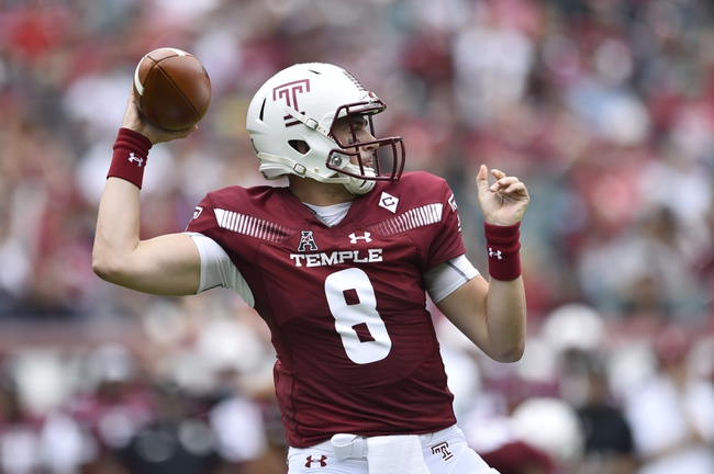 Temple vs. Buffalo - 9/8/18 College Football Pick, Odds, and Prediction