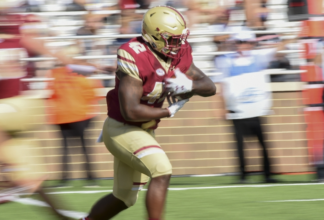 Boston College vs. Holy Cross - 9/8/18 College Football Pick, Odds, and Prediction