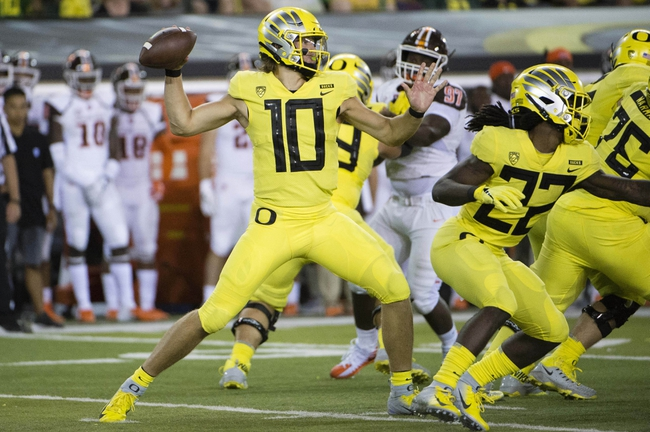 Oregon vs. Portland State - 9/8/18 College Football Pick, Odds, and Prediction