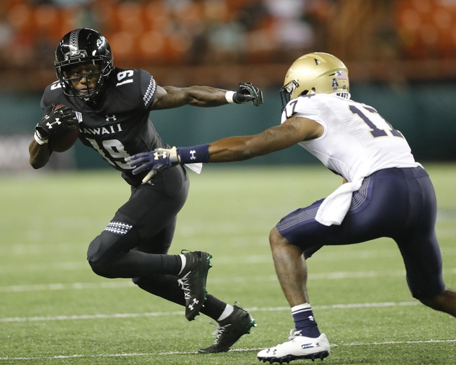 Hawaii vs. Fresno State - 11/3/19 College Football Pick, Odds, and Prediction