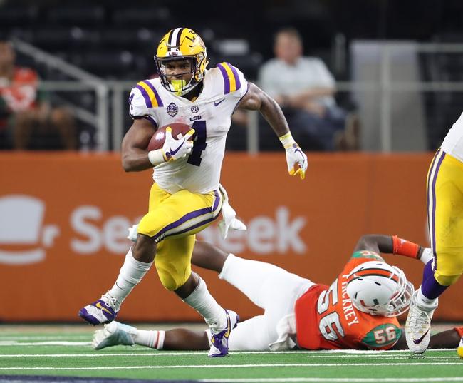 LSU vs. Southeastern Louisiana - 9/8/18 College Football Pick, Odds, and Prediction
