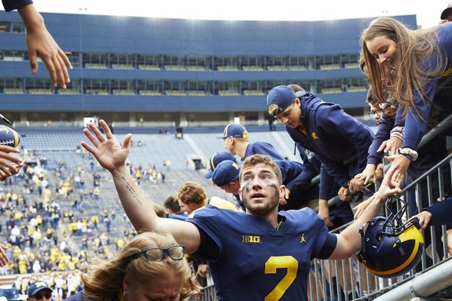 Michigan vs. SMU - 9/15/18 College Football Pick, Odds, and Prediction