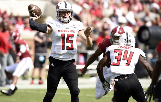 Arkansas State vs. South Alabama - 11/3/18 College Football Pick, Odds, and Prediction