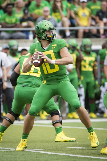 Oregon vs. San Jose State - 9/15/18 College Football Pick, Odds, and Prediction