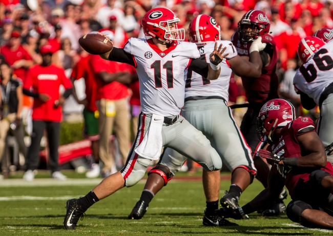 Georgia vs. Middle Tennessee - 9/15/18 College Football Pick, Odds, and Prediction