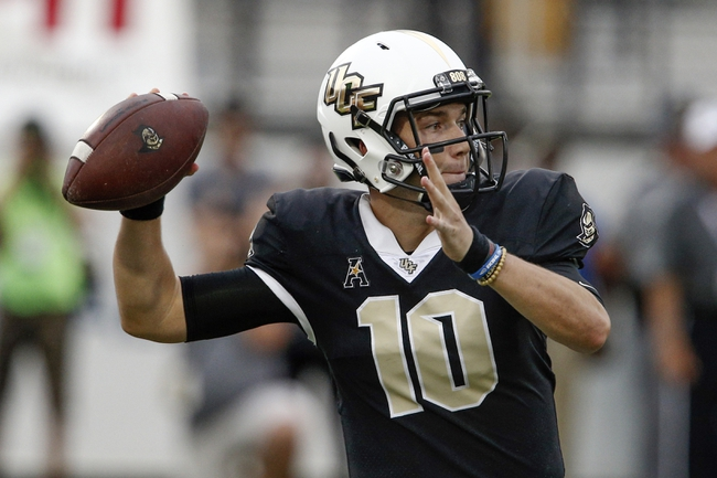 UCF vs. Florida Atlantic - 9/21/18 College Football Pick, Odds, and Prediction