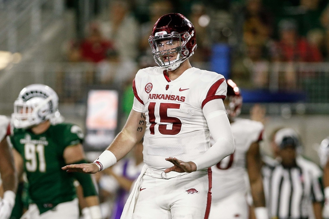 Arkansas vs. North Texas - 9/15/18 College Football Pick, Odds, and Prediction