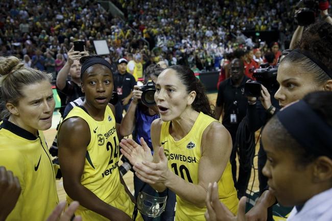 Seattle Storm vs. Las Vegas Aces - 8/22/20 WNBA Pick, Odds, and Prediction
