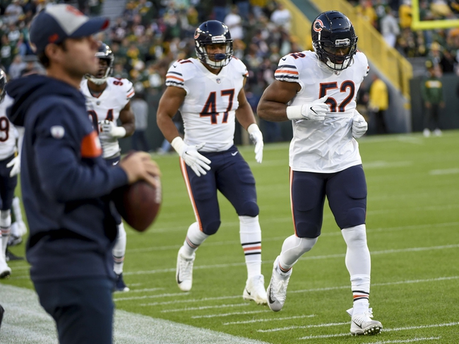 Seattle Seahawks at Chicago Bears - 9/17/18 NFL Pick, Odds, and Prediction