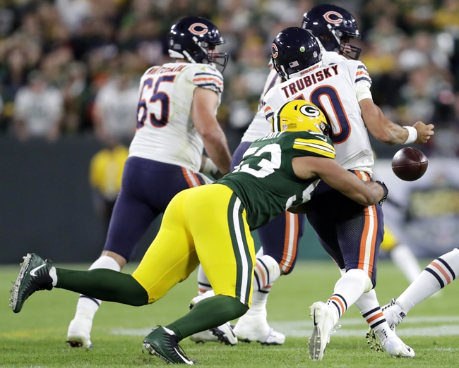Chicago Bears vs. Green Bay Packers - 12/16/18 NFL Pick, Odds, and Prediction