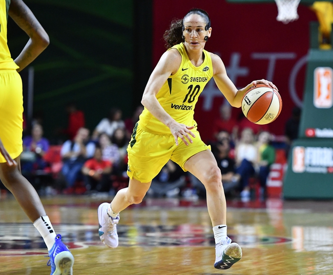 Seattle Storm vs. Connecticut Sun - 8/4/20 WNBA Pick, Odds, and Prediction