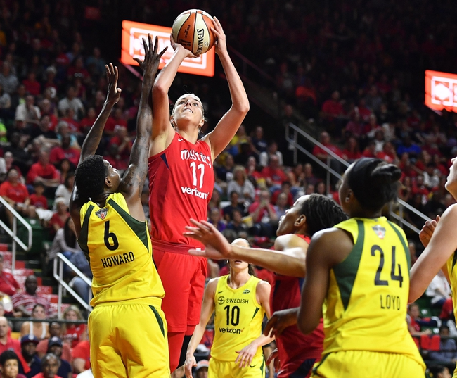 Washington Mystics vs. Los Angeles Sparks - 8/27/19 WNBA Pick, Odds, and Prediction