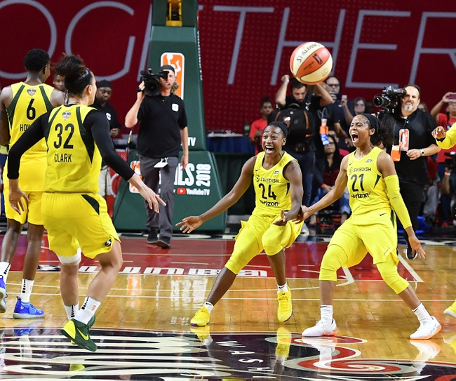 Seattle Storm vs. Atlanta Dream - 8/12/20 WNBA Pick, Odds, and Prediction
