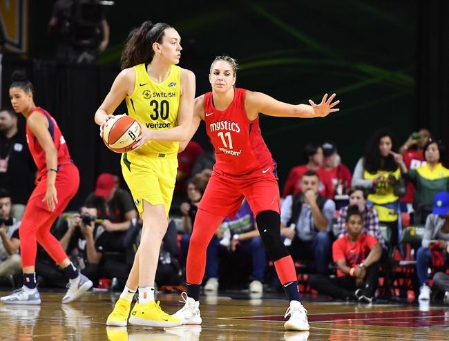 Connecticut Sun vs. Seattle Storm - 8/4/20 WNBA Picks and Prediction