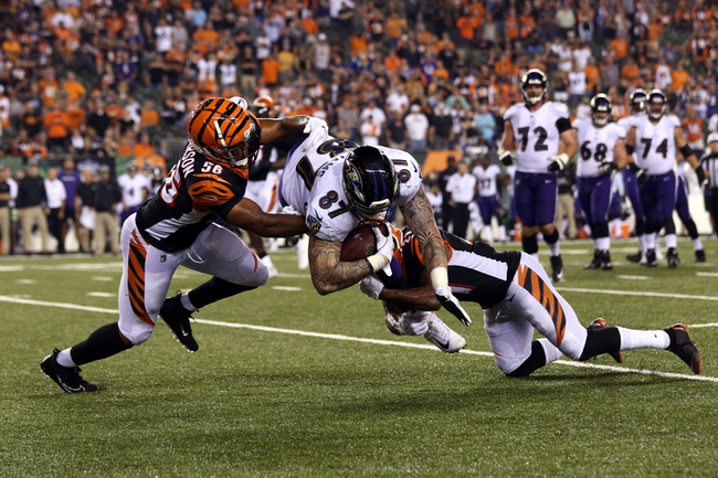 Cincinnati Bengals at Baltimore Ravens - 11/18/18 NFL Pick, Odds, and Prediction