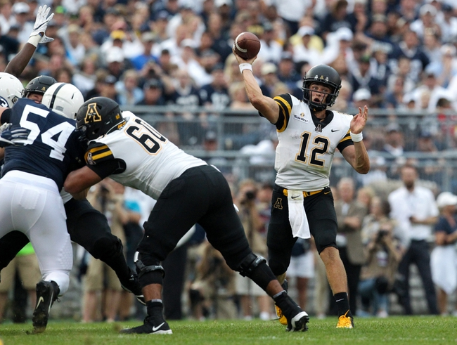Appalachian State vs. East Tennessee State - 8/31/19 College Football Pick, Odds, and Prediction
