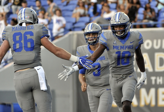 Tulane vs. Memphis - 9/28/18 College Football Pick, Odds, and Prediction