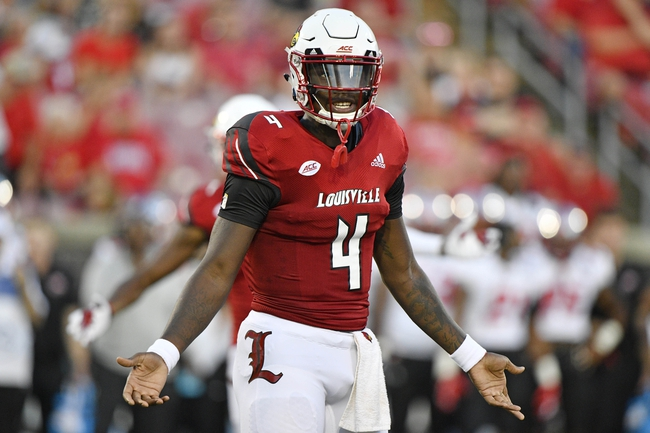 Virginia vs. Louisville - 9/22/18 College Football Pick, Odds, and Prediction