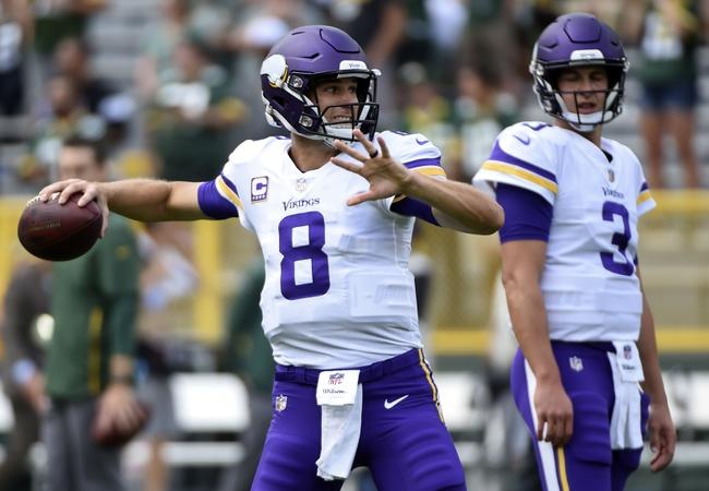 Buffalo Bills at Minnesota Vikings - 9/23/18 NFL Pick, Odds, and Prediction