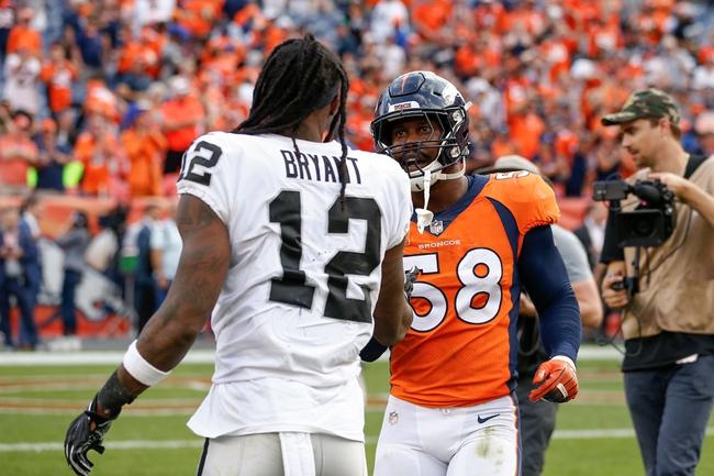 Denver Broncos at Oakland Raiders - 12/24/18 NFL Pick, Odds, and Prediction