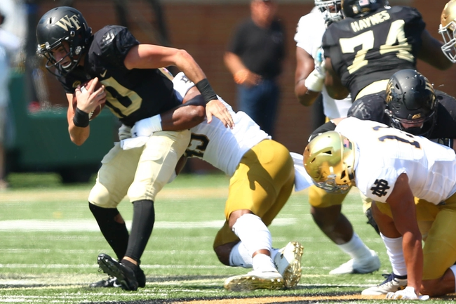 Notre Dame vs. Wake Forest - 9/26/20 Early Look College Football GOY Pick, Odds, and Prediction