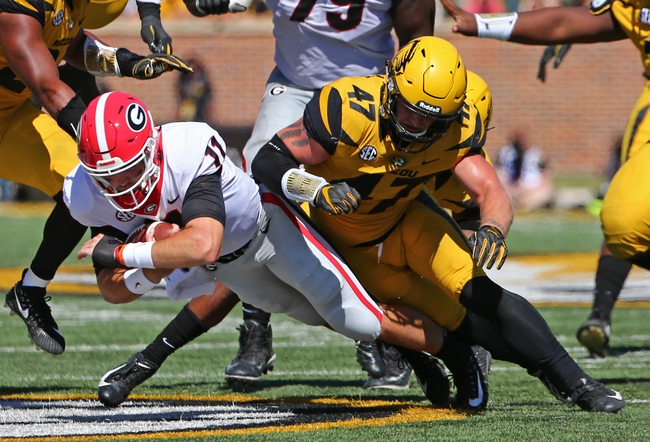 Missouri Tigers vs Georgia Bulldogs - 11/9/19 NCAAF Pick, Odds, and Prediction