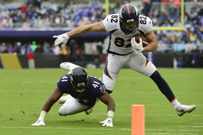 Denver Broncos vs. Baltimore Ravens - 4/20/20 Madden 20 Sim NFL Pick, Odds, and Prediction