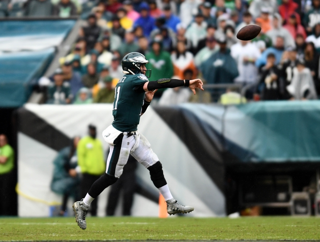 Tennessee Titans vs. Philadelphia Eagles - 9/30/18 NFL Pick, Odds, and Prediction