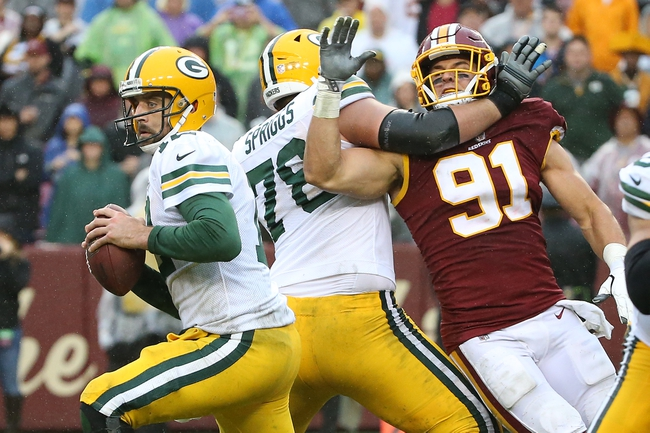 Green Bay Packers vs. Washington Redskins - 12/8/19 NFL Pick, Odds, and Prediction