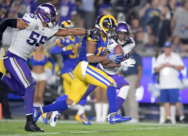 Los Angeles Rams vs. Minnesota Vikings - 6/420 Madden 20 Sim NFL Pick, Odds, and Prediction