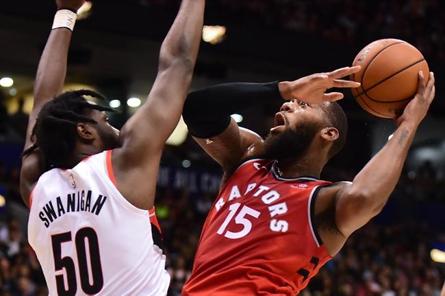 Portland Trail Blazers vs. Toronto Raptors - 12/14/18 NBA Pick, Odds, and Prediction