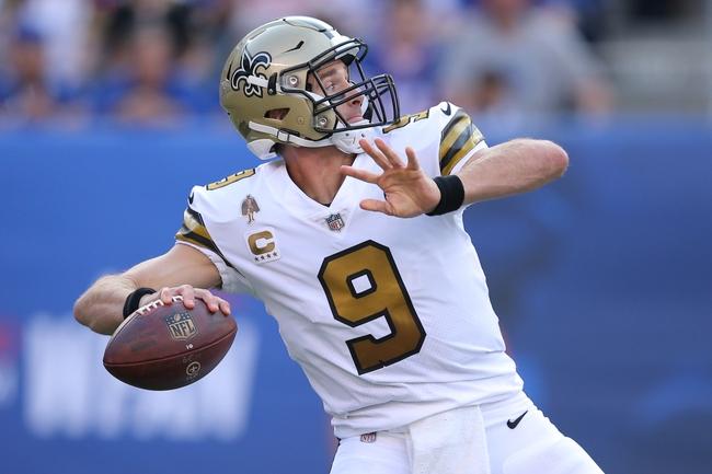 Washington Redskins at New Orleans Saints - 10/8/18 NFL Pick, Odds, and Prediction
