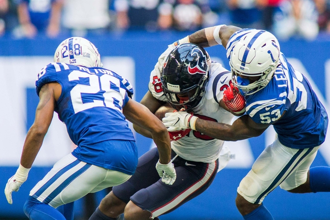 Houston Texans vs. Indianapolis Colts - 12/9/18 NFL Pick, Odds, and Prediction