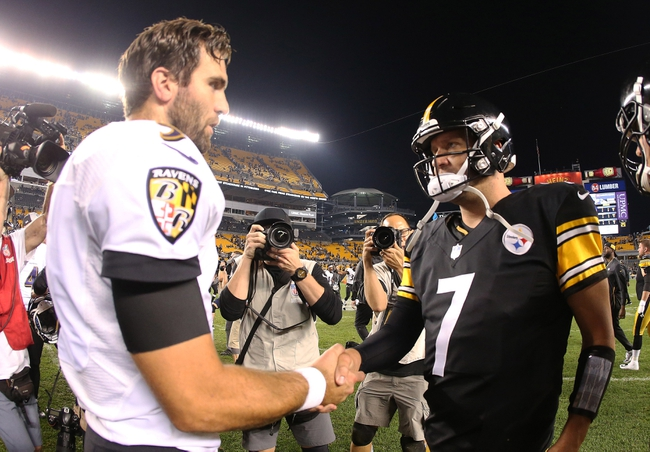 Baltimore Ravens vs. Pittsburgh Steelers - 11/4/18 NFL Pick, Odds, and Prediction