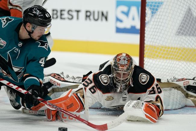 Anaheim Ducks vs. San Jose Sharks - 10/5/19 NHL Pick, Odds, and Prediction
