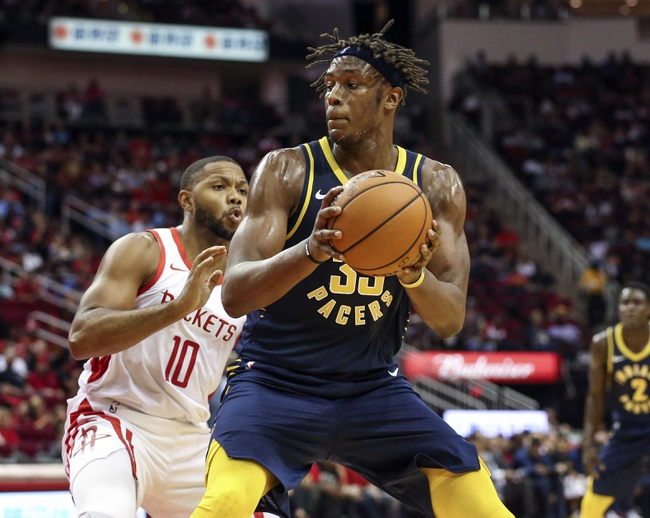 Indiana Pacers vs. Houston Rockets - 11/5/18 NBA Pick, Odds, and Prediction